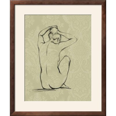 "'Sophisticated Nude I' Framed Graphic Art Print Frame: Soho Bronze/Gold Framed, Size: 28"" H x 23"" W 094FC47D32C34A83B0AD3B7E55AB80E3"
