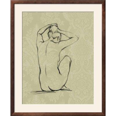 "'Sophisticated Nude I' Framed Graphic Art Print Frame: Soho Bronze/Gold Framed, Size: 35"" H x 29"" W 9B053C74FFB24A5FAB6F92C9B35AC7A7"