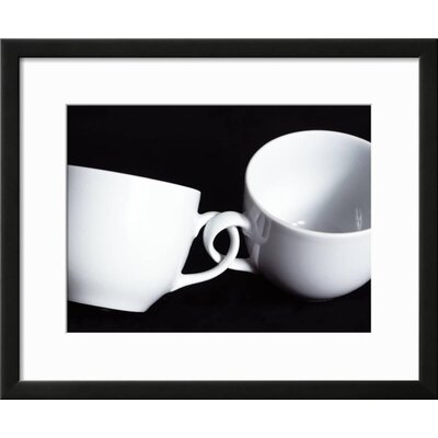 'Two Cups with Intertwined Handles' Framed Photographic Print D8EEE4969C614557950EAA34C9D9A1DB