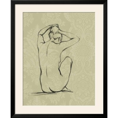 "'Sophisticated Nude I' Framed Graphic Art Print Frame: Soho Black Framed, Size: 35"" H x 29"" W 650C7BEFAB9748E89E8FE86366C76364"