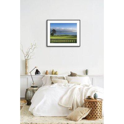 "'Pebble Beach Golf Club, Carmel, California, USA' Framed Photographic Print Frame: Ronda Ii Black Framed, Size: 23"" H x 29"" W 9AD307D066094163B18BA8B437D03949"