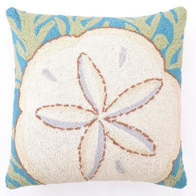 Sand Dollar Wool Throw Pillow