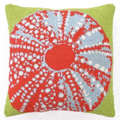 Sea Urchin Wool Throw Pillow