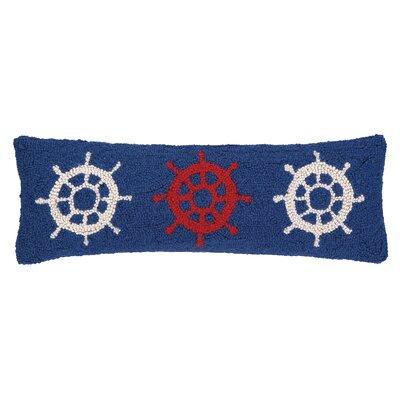 Nautical Hook Helm Trio Lumbar Pillow