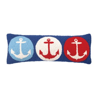 Anchor Wool Lumbar Pillow