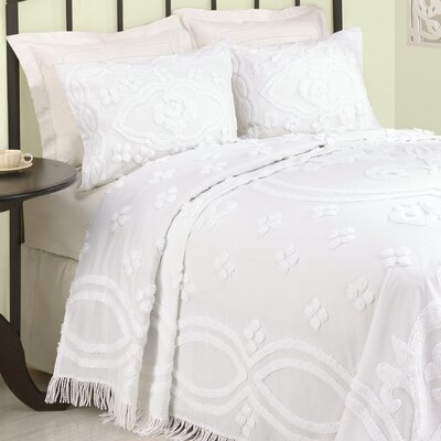 Modern Heirloom Annrose Bedspread Size: Full