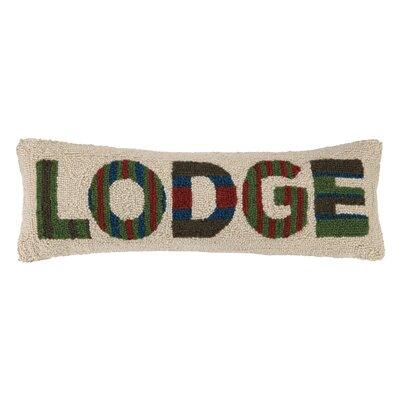 Lodge Hook Wool Lumbar Pillow