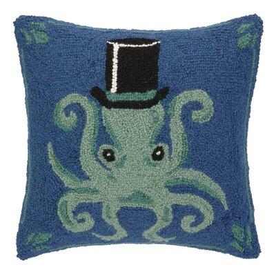 Hat Octopus Hook Wool Throw Pillow