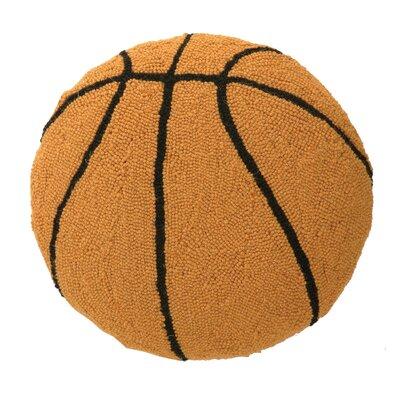 Basketball Hook Wool Throw Pillow
