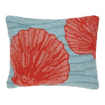 Shell Hook Wool Boudoir/Breakfast Pillow