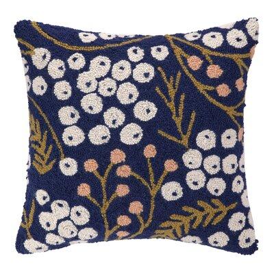 Meadow Hook Wool Throw Pillow