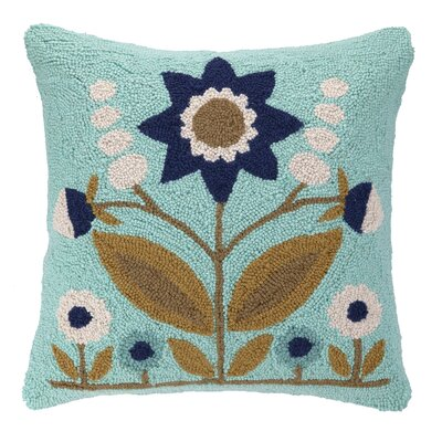 Parklife Hook Wool Throw Pillow