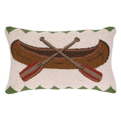 Canoe Wool Lumbar Pillow