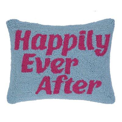 Happily Ever After Hook Wool Lumbar Pillow