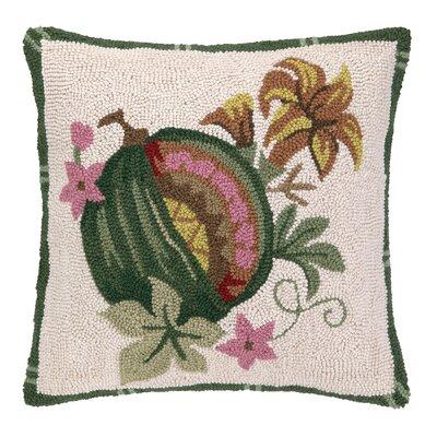 Exotic Fruit I Hook Wool Throw Pillow