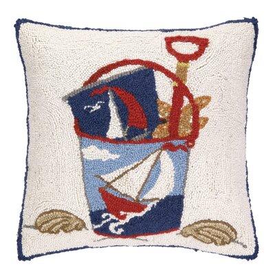 Pail Hook Wool Throw Pillow