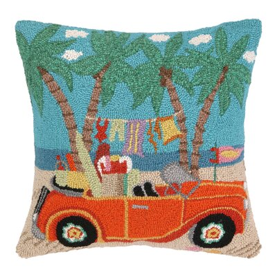 Going Places Convertible Hook Wool Throw Pillow