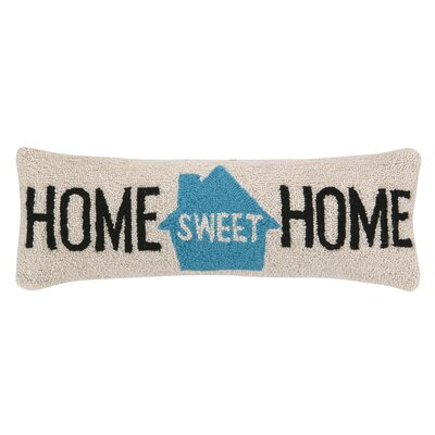 Home Sweet Home Hook Wool Throw Pillow