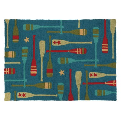 Paddles Hook Area Rug