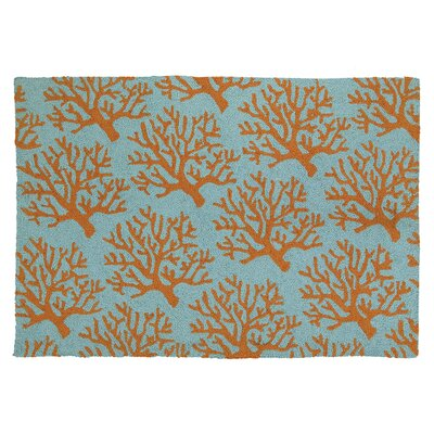 Corals Hook Area Rug