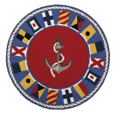 Signal Flags Hook Area Rug