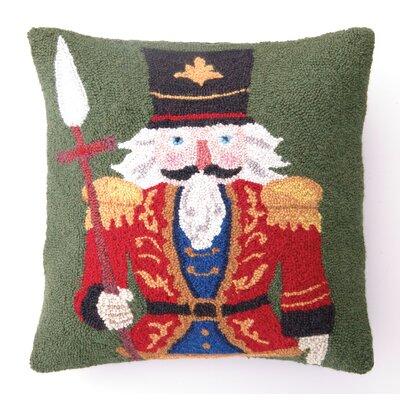Nutcracker Hook Wool Throw Pillow