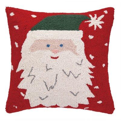Santa Hat Hook Throw Pillow