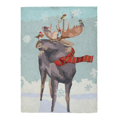Moose Taxi Hook Area Rug