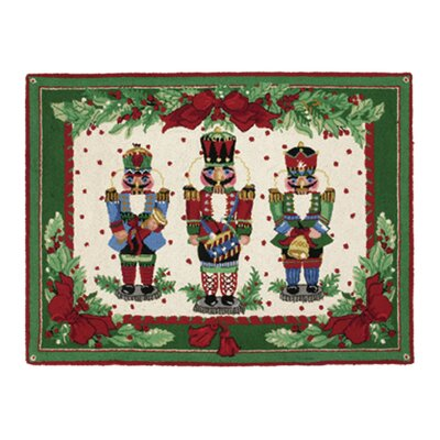 Nutcracker Melody Hook Area Rug