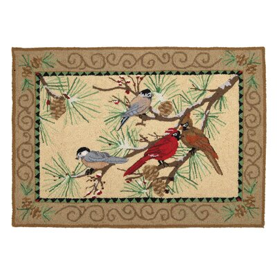 Snowbirds Hook Area Rug