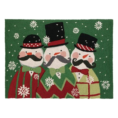 Snowstache Hook Area Rug