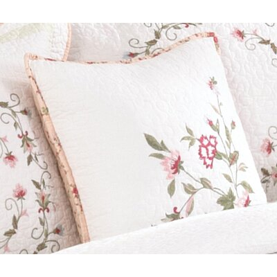 Olenik Embroidered Decorative Cotton Throw Pillow
