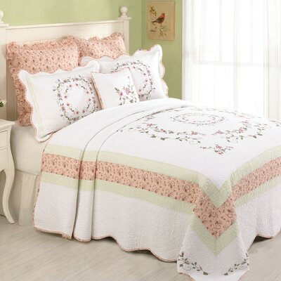 Modern Heirloom Claire Bedspread Size: Full