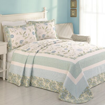 Modern Heirloom Rebecca Bedspread Size: Twin