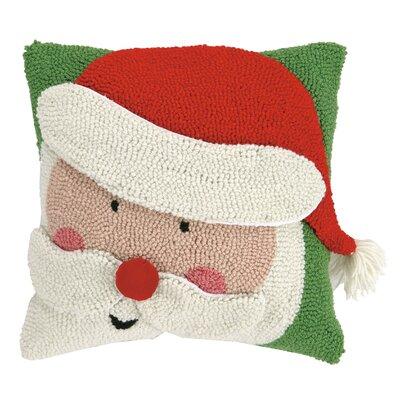 Santa 3D Hook Throw Pillow