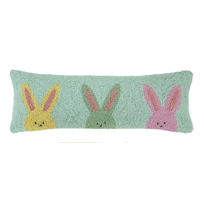 Three Peeps Lumbar Pillow