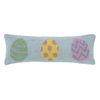 Easter Eggs Lumbar Pillow