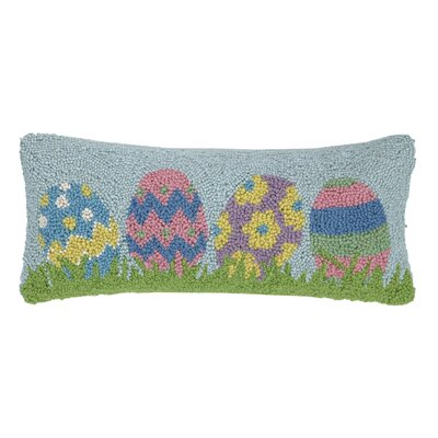 Easter Egg Hook Lumbar Pillow
