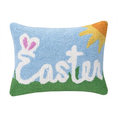 Easter Polyester Lumbar Pillow