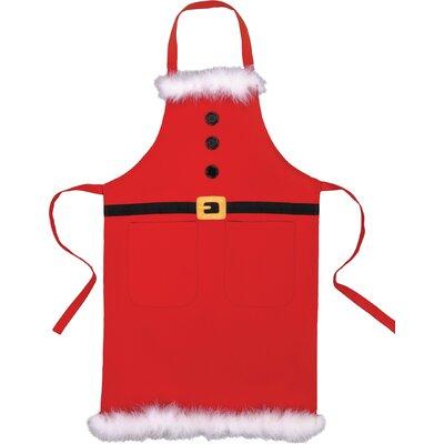 Santa's Cotton Belt Apron 02TA893RD