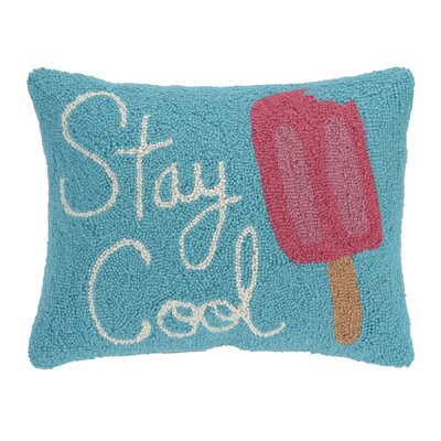 Stay Cool Hook Wool Lumbar Pillow