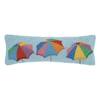 Umbrellas Hook Wool Lumbar Pillow