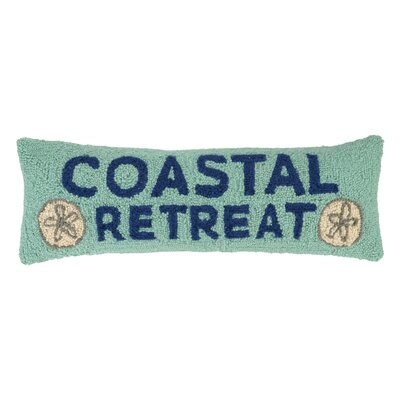 Coastal Retreat Wool Lumbar Pillow