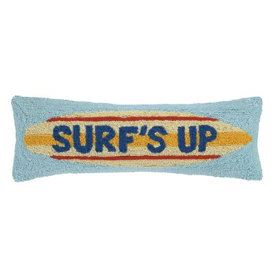 Surfs Up Wool Lumbar Pillow
