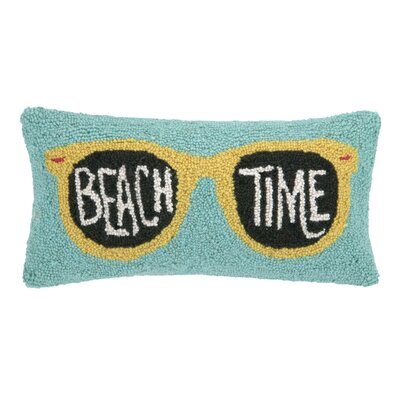 Beach Time Wool Lumbar Pillow