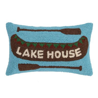 Lake House Wool Lumbar Pillow
