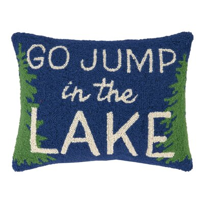 Jump in the Lake Wool Lumbar Pillow