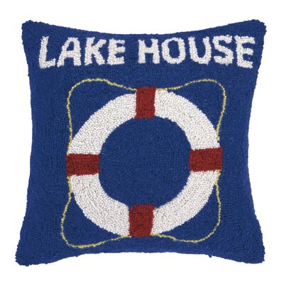 Lake House Wool Throw Pillow