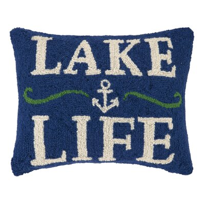 Lake Hook Wool Lumbar Pillow