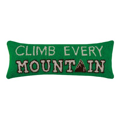 Camp Life Hook Wool Lumbar Pillow